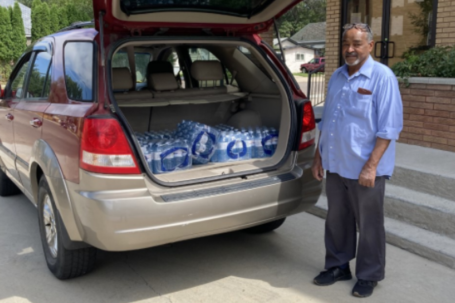 Vista Park Watter Bottle Donation