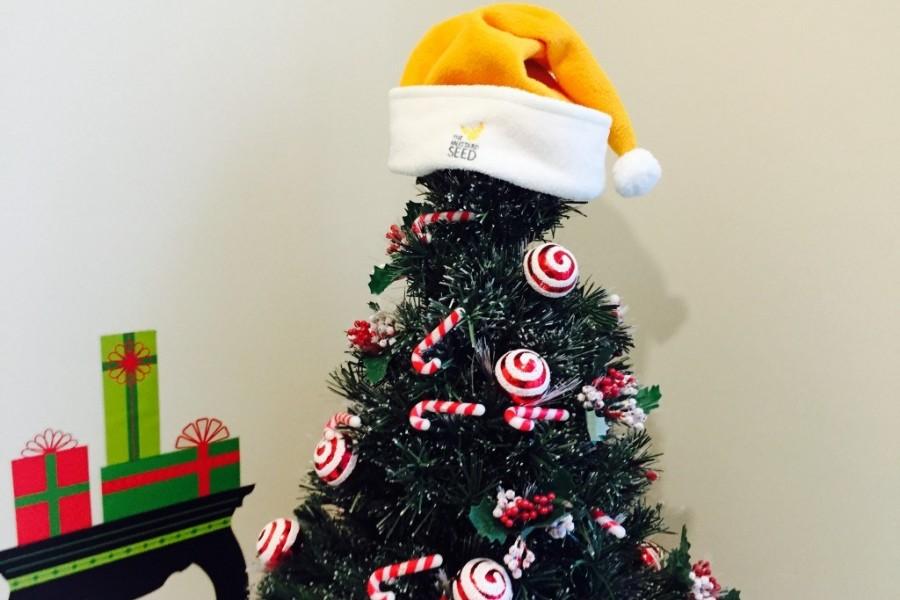Yellow hat on tree 1024x768