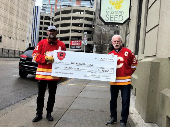 Calgary Flames Alumni headshot
